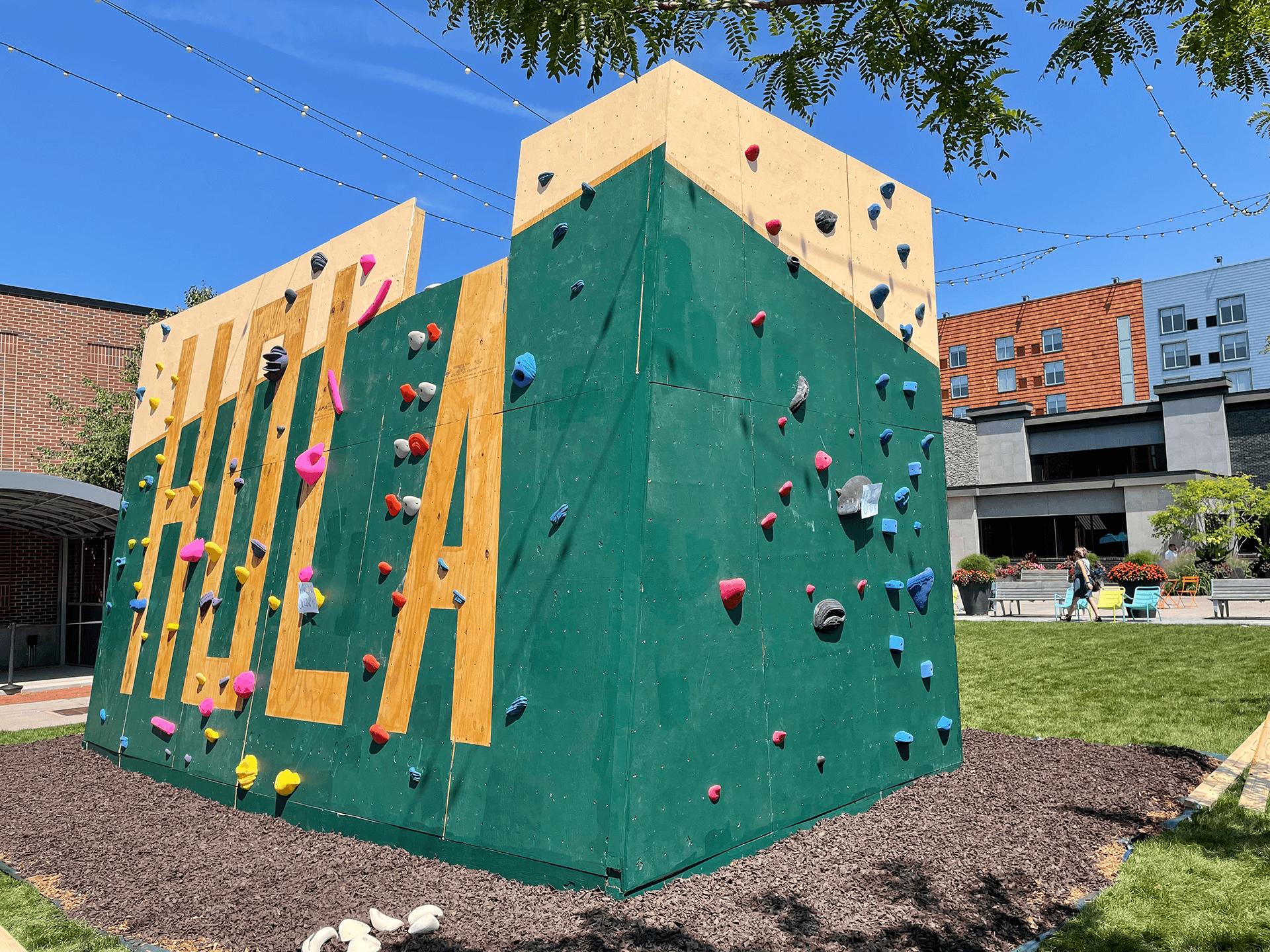 Nosotros Climbing Wall