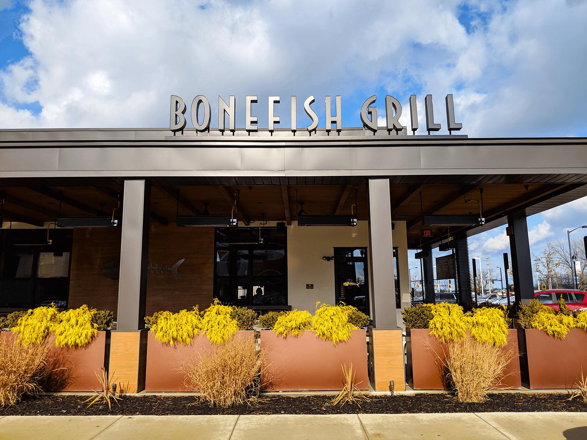 Bonefish Grill Wine Tour Patio Edition