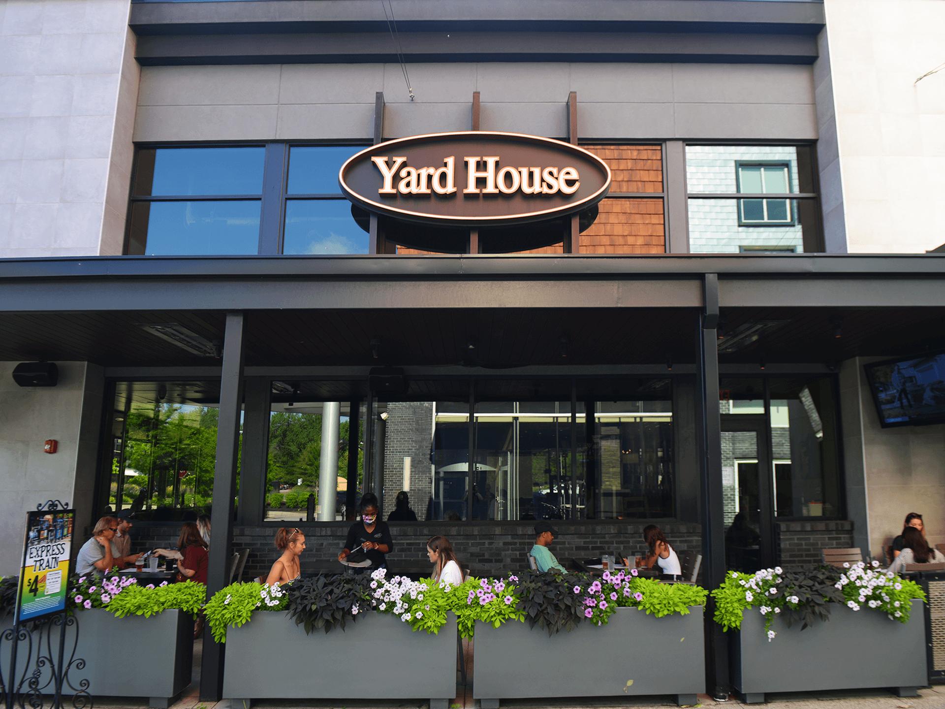 Yard House Wine Tour Patio Edition