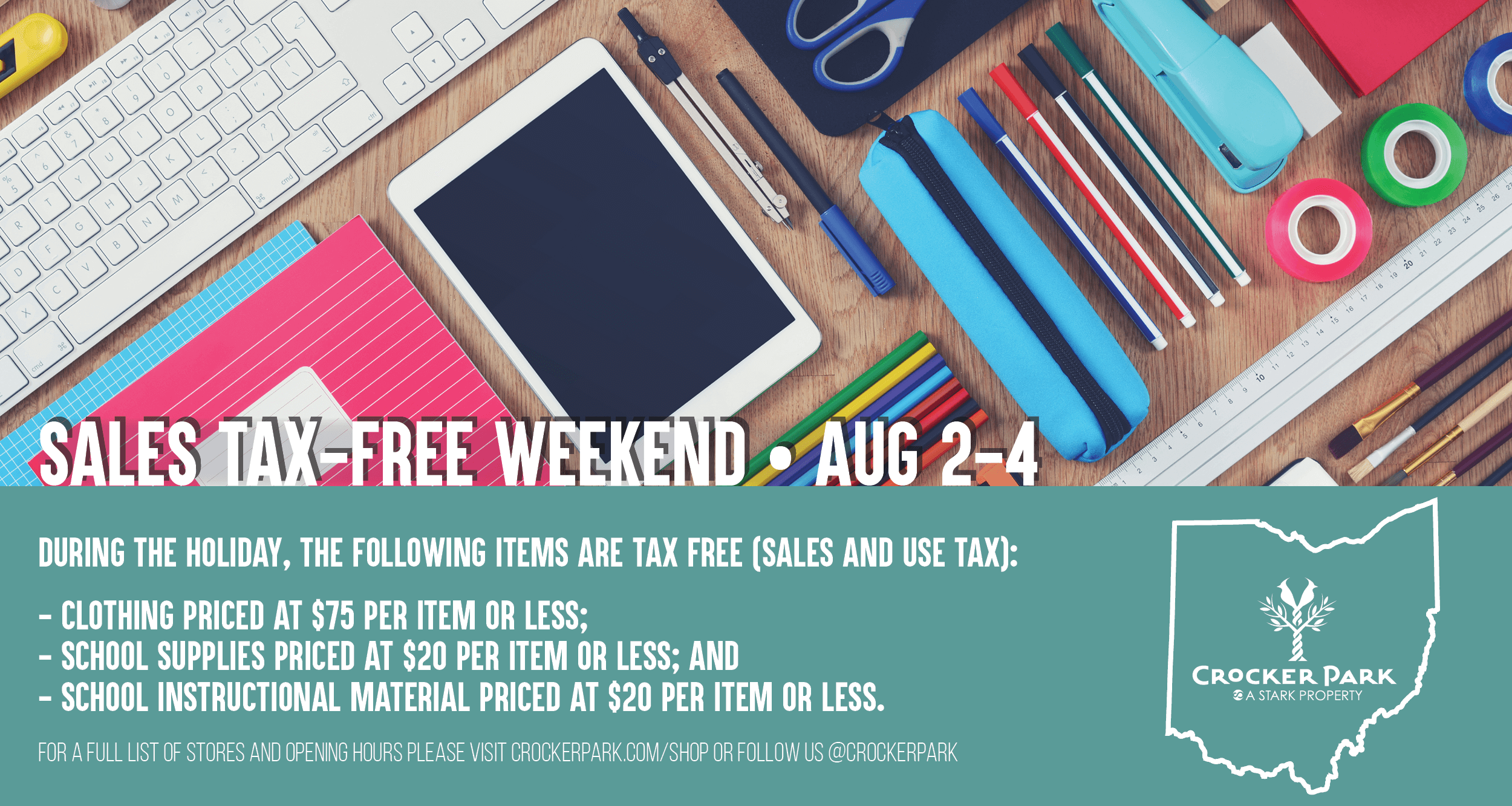 Ohio Tax Free Weekend