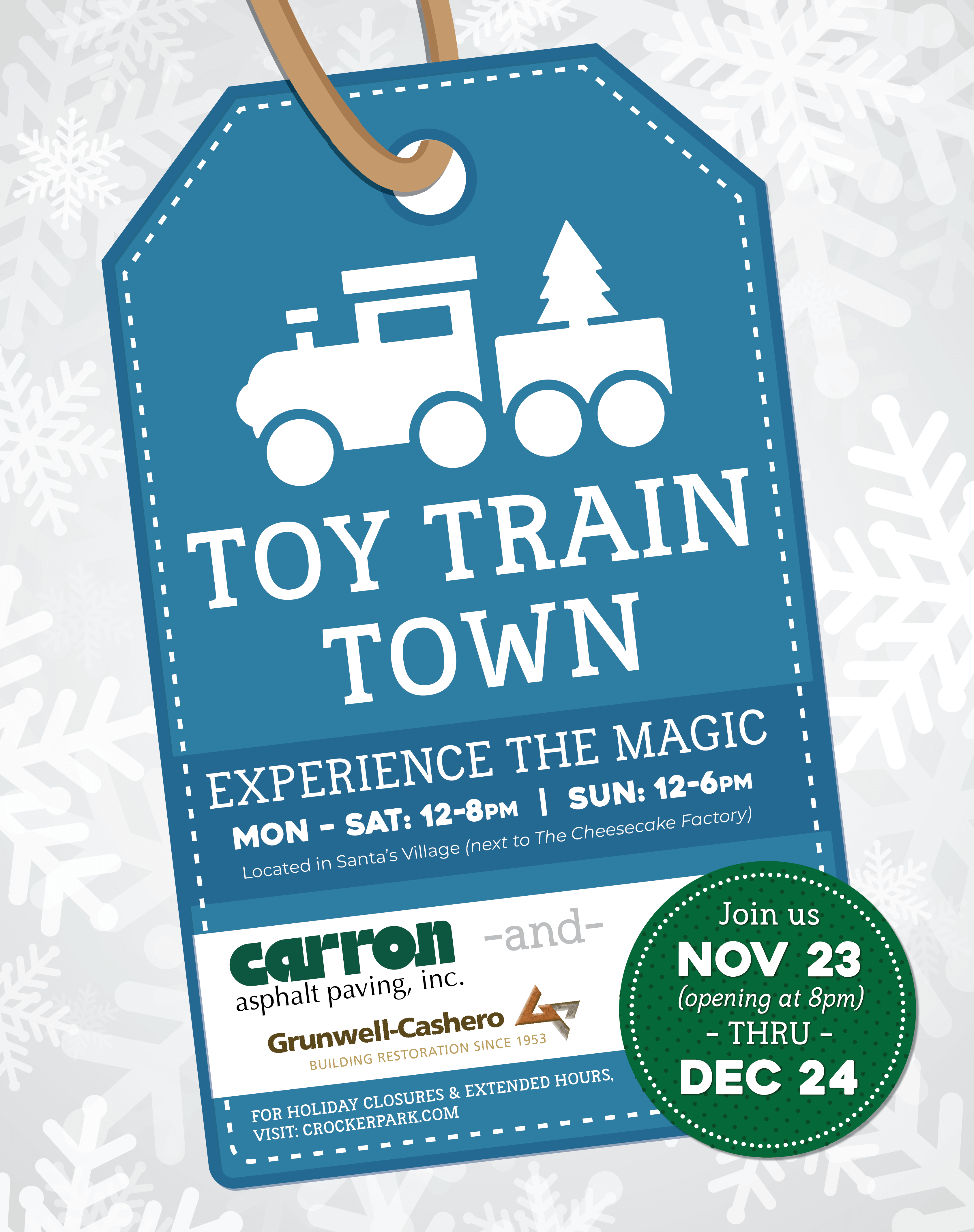 Toy Train Town